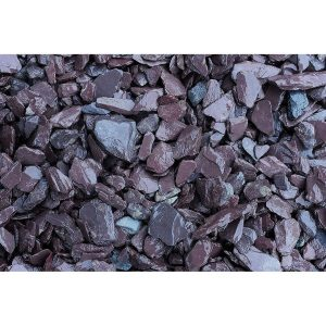 Piedras de jardín de pizarra